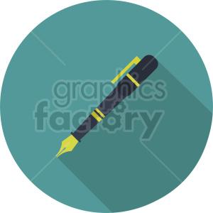ink pen vector clipart 2