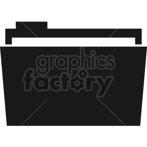 file folder vector clipart 4 clipart. Commercial use image # 413536