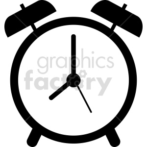alarm clock vector graphic clipart 5 background. Commercial use background # 413567
