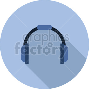 headphones vector icon graphic clipart 9 clipart. Commercial use image # 413570