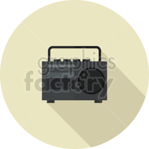 radio vector icon graphic clipart 2 clipart. Commercial use image # 413600