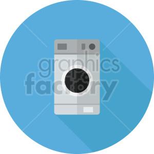washing machine vector icon graphic clipart 2