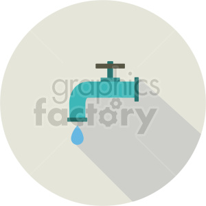 water faucet vector icon graphic clipart 1