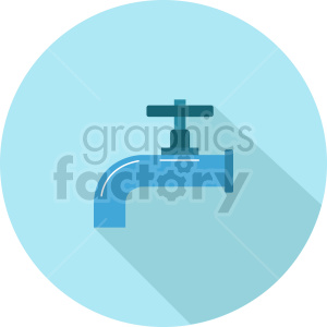 water faucet vector icon graphic clipart 2