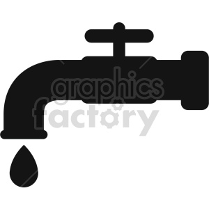 water faucet vector icon graphic clipart 4