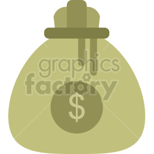 money bag vector icon graphic clipart no background clipart. Commercial use image # 413676