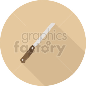 knife vector icon graphic clipart 2