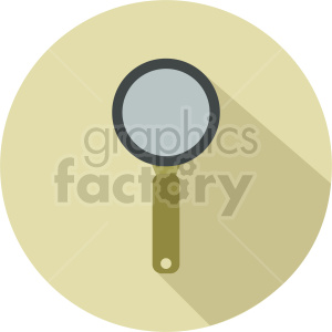 magnifying glass vector icon graphic clipart 15 clipart. Commercial use image # 413887