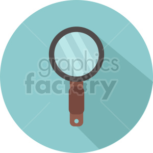 magnifying glass vector icon graphic clipart 14 clipart. Commercial use image # 413896