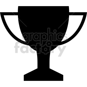 trophy vector icon graphic clipart 4 clipart. Commercial use image # 413938