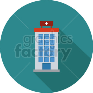 isometric hospital vector icon clipart 3 clipart. Commercial use image # 413993