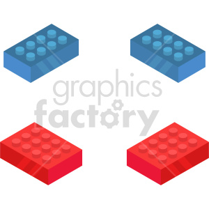 isometric building blocks vector icon clipart 1 clipart. Commercial use image # 414491