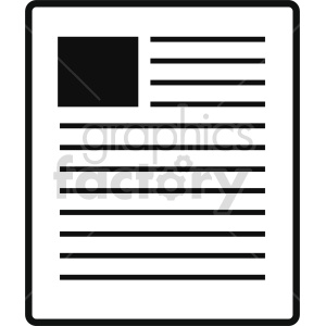 isometric document vector icon clipart 4