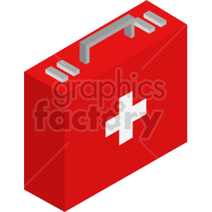 isometric medical bag vector icon clipart 6 clipart. Commercial use image # 414614