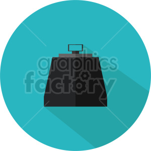 isometric weights vector icon clipart 2 clipart. Commercial use image # 414649