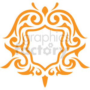 fancy frame vector clipart clipart. Commercial use image # 415059