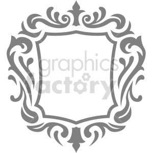 squared frame design vector clipart clipart. Commercial use image # 415070