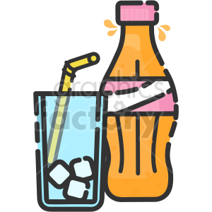 cola drink vector clip art clipart. Commercial use image # 415090