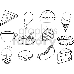 food vector icon clipart. Commercial use image # 415105