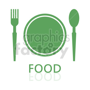 food plate clipart clipart. Commercial use image # 415180