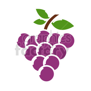 grape vector icons 8 clipart. Commercial use image # 415184