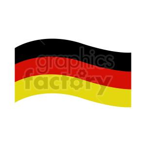 clipart - German flag vector clipart.