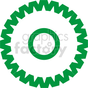 gear sign vector clipart clipart. Commercial use image # 415461
