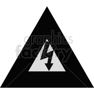 electric symbol sign vector graphic clipart. Commercial use image # 415512
