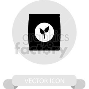 fertilizer vector clipart icon clipart. Commercial use image # 415597