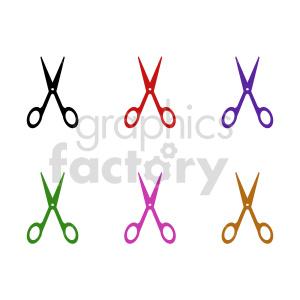 scissor bundle clipart clipart. Commercial use image # 415616