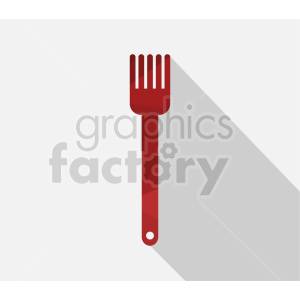clipart - cooking fork vector clipart.