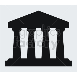 vector pillar design clipart. Commercial use image # 415632