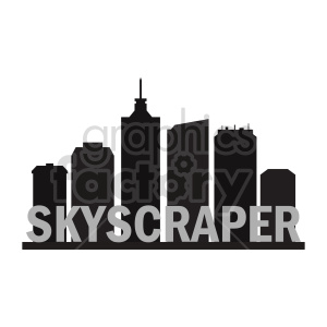 skyscraper clipart clipart. Commercial use image # 415648