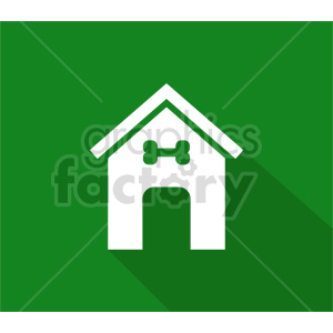 dog house vector icon design clipart. Commercial use image # 415665