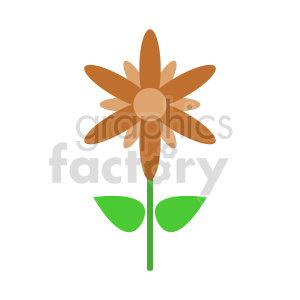 clipart - flower clipart 11.