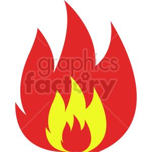 flames vector icon