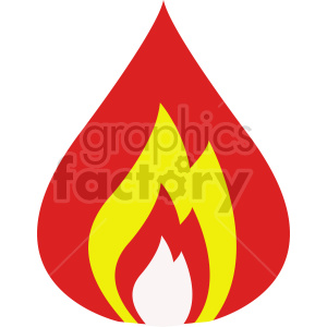 fire vector clipart icon clipart. Commercial use image # 415786