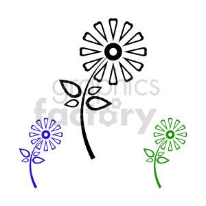 flower bundle vector design 5 clipart. Commercial use image # 415830