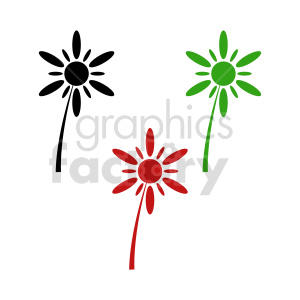 flower bundle vector design 1 clipart. Commercial use image # 415831