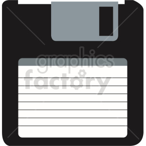 clipart - floppy disk icon vector clipart.