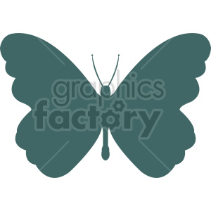butterfly silhouette vector clipart 01 clipart. Commercial use image # 415931
