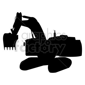 excavator vector clipart clipart. Commercial use image # 416014