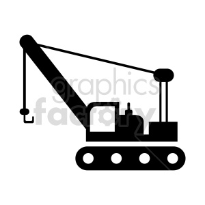 crawler crane clipart clipart. Commercial use image # 416039