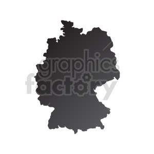 clipart - germany gradient vector clipart.