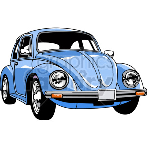 vw beetle car vector clipart clipart. Commercial use image # 416200