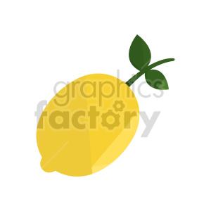 lemon vector design clipart. Commercial use image # 416229