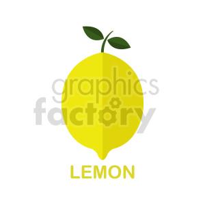 lemon vector clipart clipart. Commercial use image # 416248