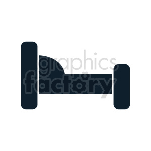 bed icon clipart. Commercial use image # 416268