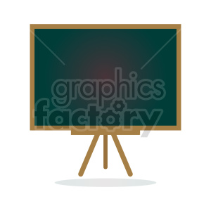 standing chalkboard vector clipart clipart. Commercial use image # 416403
