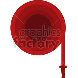 fire hose vector clipart clipart. Commercial use image # 416419